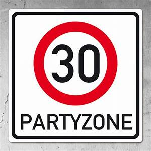 30 Dinge Zum 30 Geburtstag : verkehrsschild pvc schild zum 30 geburtstag ~ Bigdaddyawards.com Haus und Dekorationen