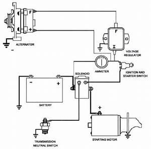 Car Starter Motor Circuit Diagram