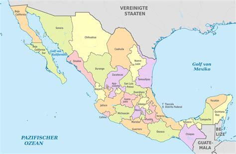 File:Mexico, administrative divisions - de - colored.svg ...