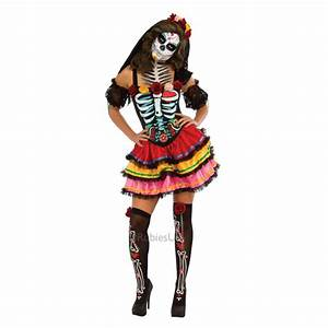 New Day Of The Dead Mexican Muertos Halloween Skeleton