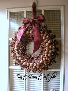 East, Coast, Styler, How, To, Make, A, Pine, Cone, Wreath