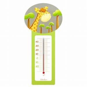 Thermometre chambre bebe Ziloo fr