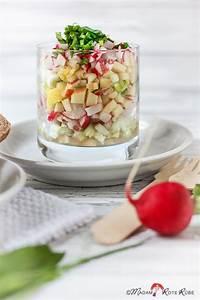 Honig Senf Sauce Salat : madam rote r be radieschen fr hlingssalat mit honig senf ~ Watch28wear.com Haus und Dekorationen
