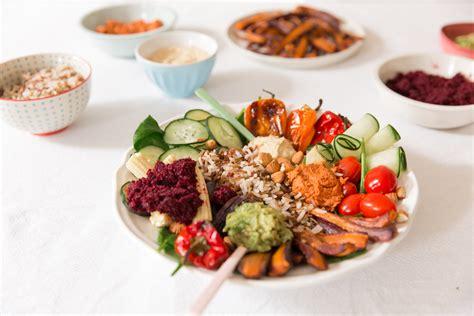 avocat cuisine recette veggie bowl ou la assiette végétarienne dollyjessydollyjessy