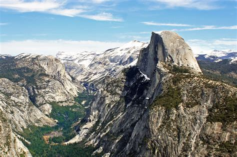 View From Glacier Point, Yosemite, Ca  Glacier Point Is A