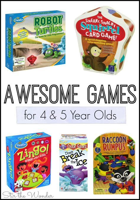 awesome for 4 and 5 year olds stir the