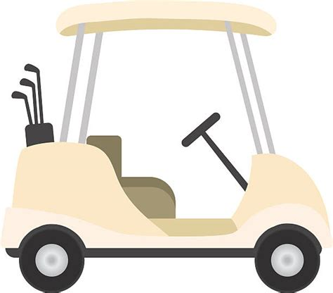 Golf Cart Clip Golf Cart Clip Vector Images Illustrations Istock