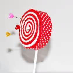 Red Candy Cane Lollipop