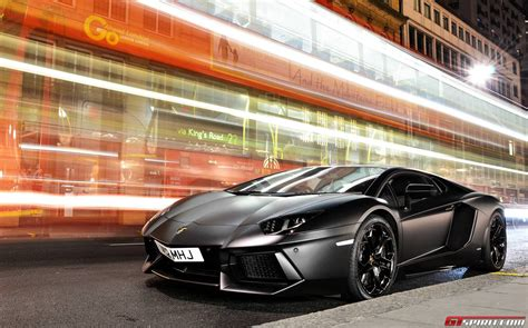 The Best Supercars In London 2013