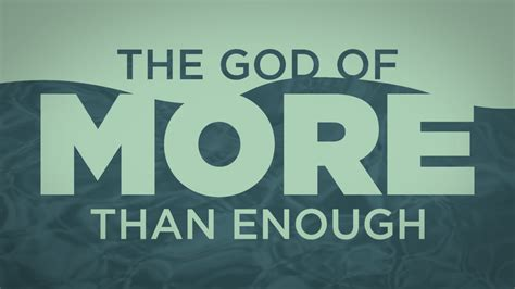 God of More Than Enough | Trinity Fellowship Church | LIVE Online | Sundays at 11:00 a.m. CST
