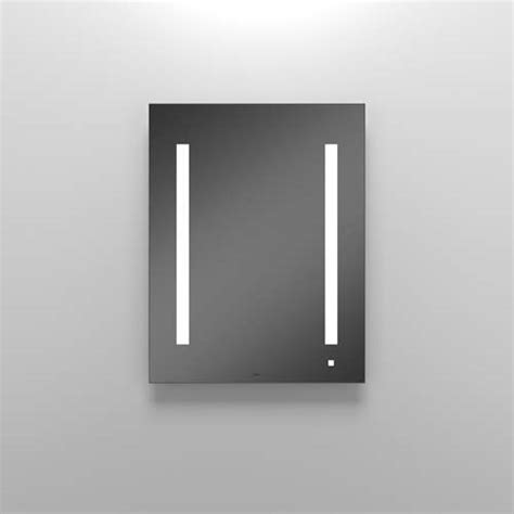 Robern Bathroom Mirrors by Robern Aio Lighted Bathroom Mirror Am2430rfp Mirrored