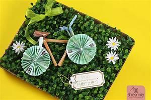 Fahrrad Aus Geldscheinen Falten : ein fahrrad aus geldscheinen zum 60 geburtstag shesmile ~ Lizthompson.info Haus und Dekorationen