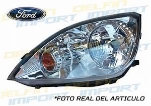 Faro Delantero Ford Fiesta Power 2004    2007