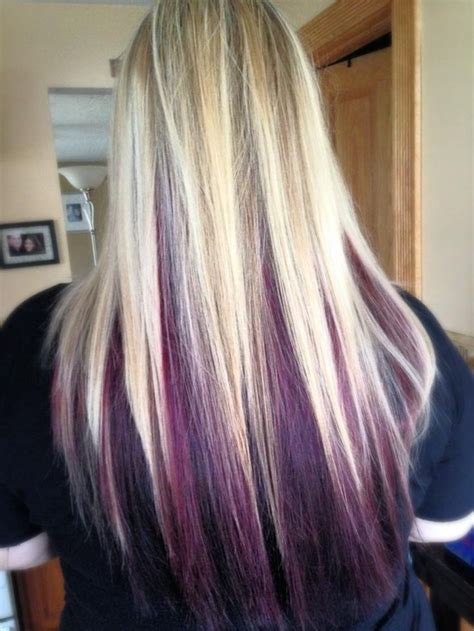 25 Best Ideas About Purple Blonde Hair On Pinterest