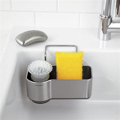 simplehuman 174 sink caddy crate and barrel crates and