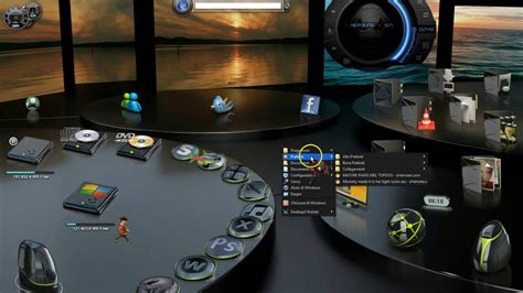 theme bureau windows 7 windows 7 8 10 theme desktop 3d