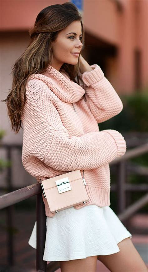 oversized pink sweater 20 light sweater styles to pop up your looks pretty designs