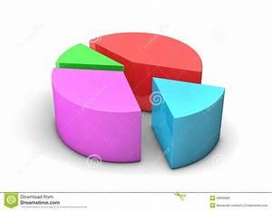 Colorful Diagram Stock Illustration  Illustration Of