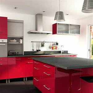 carrelage mural rouge cuisine systembaseco With carrelage mural rouge pour cuisine