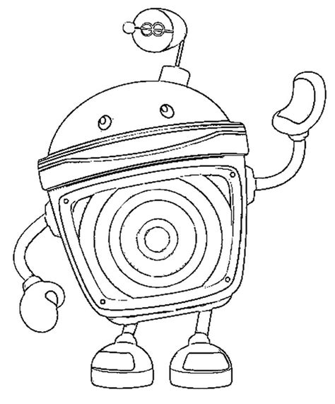 Umizoomi Kleurplaat by Umizoomi Coloring Pages