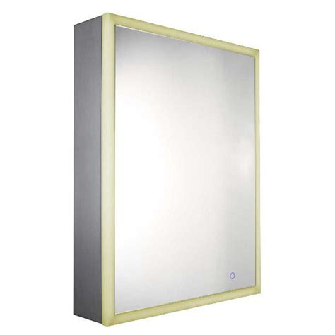 medicine cabinet with outlet whitehaus recessed single door cabinet w outlet led