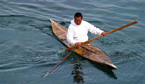 Eskimo Boat by Kajak
