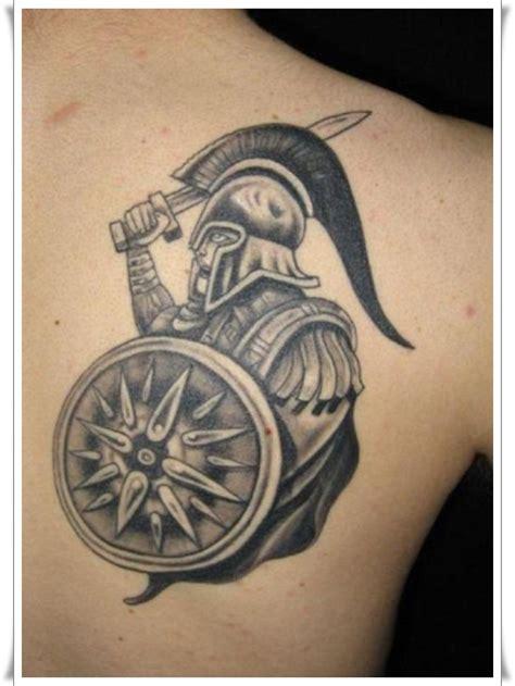 powerful warrior tattoo designs
