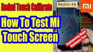 Redmi Mi 4x Touch Calibrate
