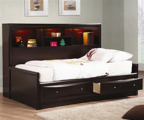 full size bookcase daybed phoenix daybed with bookcase and storage