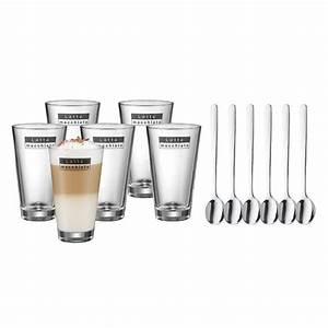 Latte Macchiato Löffel : wmf latte macchiato set 12 tlg 6 gl ser 6 l ffel ~ A.2002-acura-tl-radio.info Haus und Dekorationen