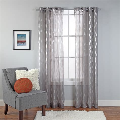 sheer curtain panels palazzo scroll semisheer curtain