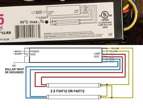 T12 Wiring Diagram by Electronic Ballast Wiring Diagram Inspirational 2 L T8