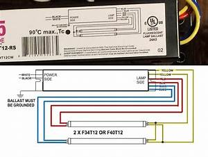 Electronic Ballast Wiring Diagram Inspirational 2 Lamp T8