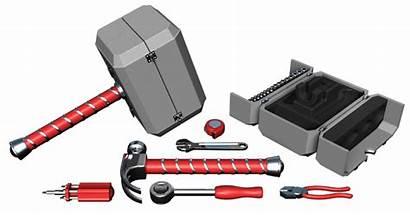 Thor Hammer Tool Toolbox Kit Wield Cbr
