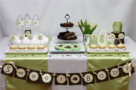 Elephant Themes Baby Shower Ideas