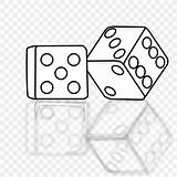 Dice Game Clip Connect Dots Coloring Clipart Colorir Dados Area Webstockreview sketch template