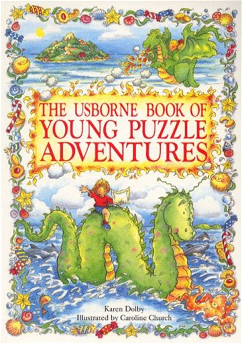 usborne book  young puzzle adventures lucy