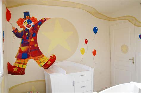 chambre cirque chambre cirque photo 2 4 un clown un éléphant une