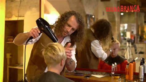 Bruno Branca - coiffeur Lyon 6  Coupes - YouTube