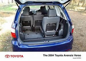Toyota Verso Dimensions : avensis verso interior 2004 2006 toyota uk media site ~ Medecine-chirurgie-esthetiques.com Avis de Voitures