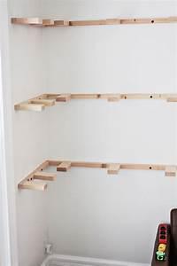 DIY Floating Corner Shelves – A Beautiful Mess