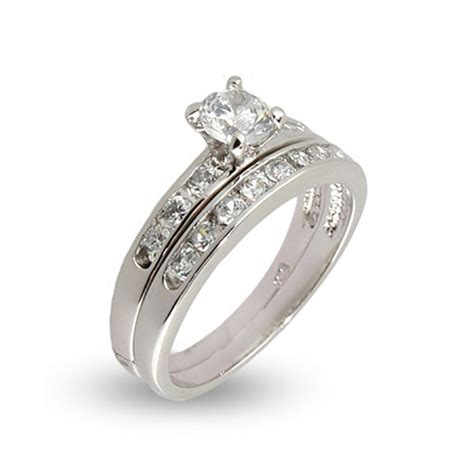 size 5 wedding rings simple channel set cz wedding ring set 39 s addiction