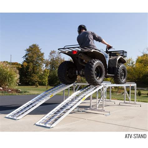 Lawn Tractor & Atv Stand For Service Or Display Discount