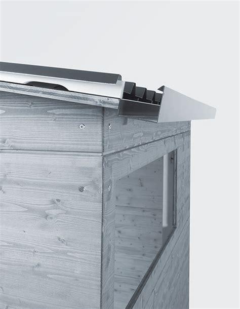 Trapezblech Für Gartenhaus by Gartenhaus Pultdach Dach