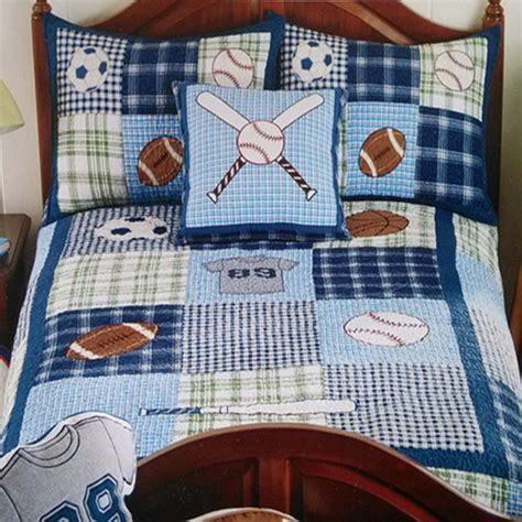 boys sports quilt