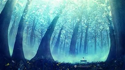 Wallpapers Anime Background Desktop 1440 2560 Forest
