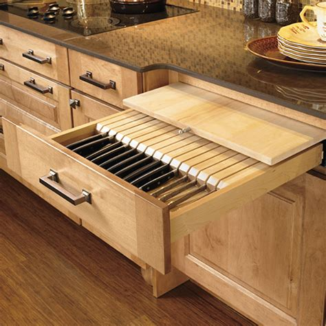 kitchen knife storage solutions browse kitchen accessories wellborn cabinets 5292