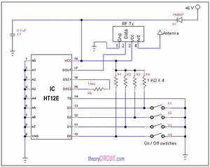 Rf Remote Control Circuit