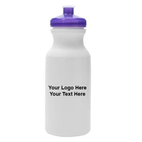 20 oz promotional logo water bottles