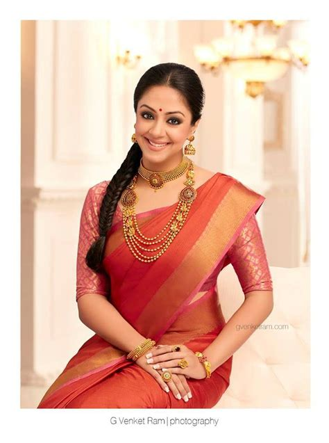 actress jyothika latest photos jyothika sarees advertisement photos latest photoshoot